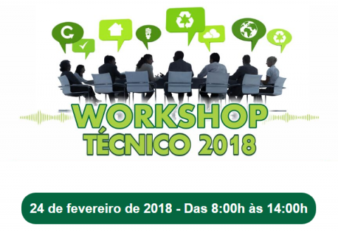 Workshop Técnico 2018 – Oportunidade única!