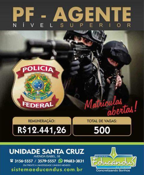 Seja um agente de Polícia Federal (PF) – nível superior