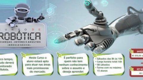 Seja você a criar o Próximo Robô – Curso de Robótica