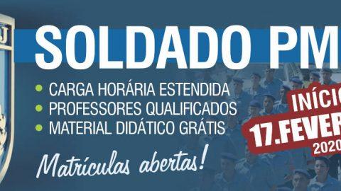Anunciado edital com 2.000 vagas em concurso para PMERJ Soldado. Bora Estudar!!